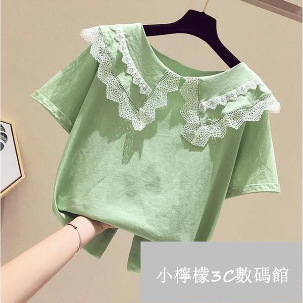 女童T恤短袖夏裝童裝半袖韓版兒童上衣【小檸檬3C數碼館】