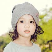 親子帽子寶寶帽子春秋兒童堆堆帽透氣薄款純棉【奇趣小屋】