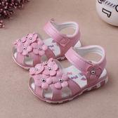 0-1-2歲 夏季嬰兒涼鞋女寶寶可愛童鞋公主鞋防滑軟底寶寶學步鞋