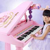 兒童電子琴1-3-6歲女孩初學者入門鋼琴寶寶多功能可彈奏音樂玩具 ys4118『伊人雅舍』