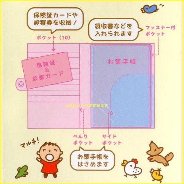 asdfkitty可愛家☆TABO/大口仔/大寶 多功能票卡套/護照套/證件套-放信用卡-日本正版商品