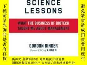 二手書博民逛書店Science罕見LessonsY364153 Gordon Binder Harvard Business