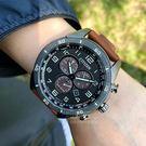 CITIZEN日本星辰ECO-Drive競速時計光動能腕錶AT2447-01E公司貨