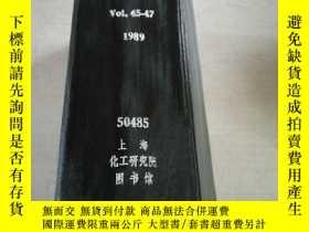 二手書博民逛書店JOURNAL罕見OF MEMBRANE SCIENCE.Vol