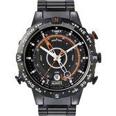 TIMEX IQ智慧系列 遠征系列神隱任務腕錶-黑橘-TXT2N723 /美國/天美時