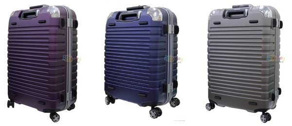 (送旅行袋)萬國通路 雅仕EMINENT 9Q3 28吋 霧面鋁框 PC材質 行李箱 金灰色