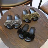 新年大促女童拖鞋夏季兒童時尚中大童涼拖小公主蝴蝶結外穿專用女孩軟底潮 森活雜貨