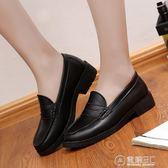 日系學院鞋日系學院風jk雪鬆日本制服鞋cos圓頭平底表演鞋學生鞋女鞋單鞋子 電購3C