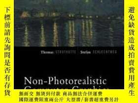 二手書博民逛書店Non-photorealistic罕見Computer Graphics-非真實感計算機圖形Y436638