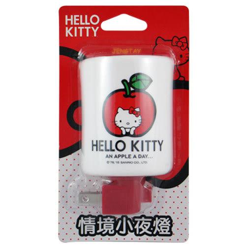 《鉦泰生活館》Hello Kitty情境小夜燈(蘋果) KT-52002