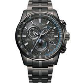 CITIZEN 星辰 GENTS系列 光動能電波時尚腕錶 CB5887-55H