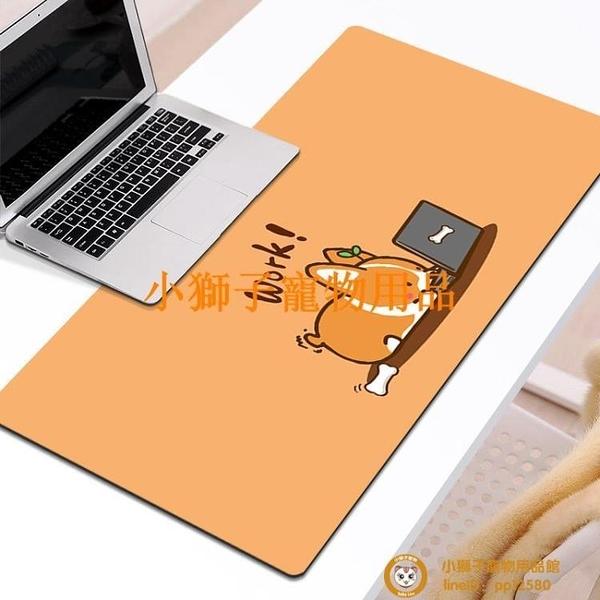 超大護腕女IG風軟墊游戲墊大號可愛鼠標墊桌墊小號寫字桌墊滑鼠墊品牌【小獅子】