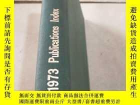 二手書博民逛書店ieee罕見1973 pubications index iee