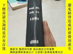 二手書博民逛書店ANALYTISCHE罕見CHEMIE.BAND.304.HEFT.1-5.1980(分析化學)(英文)Y20