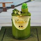 永動機 竹子永動機自動循環流水器水景噴泉創意小擺件家里裝飾品家居用品【免運】