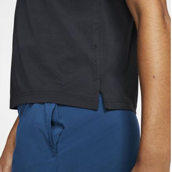NIKE Tennis 女裝 短袖 網球 排汗 透氣 POLO 黑【運動世界】 BV1058-010