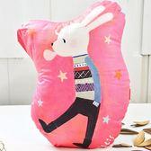 義大利Fancy Belle X Malis《兔子吹泡泡》數位造型抱枕 30*42CM