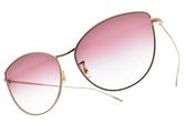 OLIVER PEOPLES 太陽眼鏡 RAYETTE 50378H (玫瑰金-漸層粉) 微貓眼造型款 墨鏡 # 金橘眼鏡