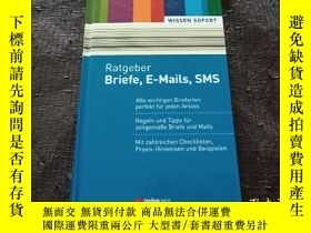 二手書博民逛書店Ratgeber罕見Briefe,E-Mails,SMS提示信、電子郵件、短信【德文原版】Y181138 WI