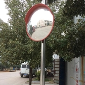 80cm廣角鏡100cm凸面鏡反光鏡道路轉角鏡凸球面鏡凹凸鏡防盜鏡WD 電購3C