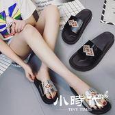 半拖鞋 拖鞋女夏季一字拖女平底涼拖防滑休閑外穿學生鞋涼鞋