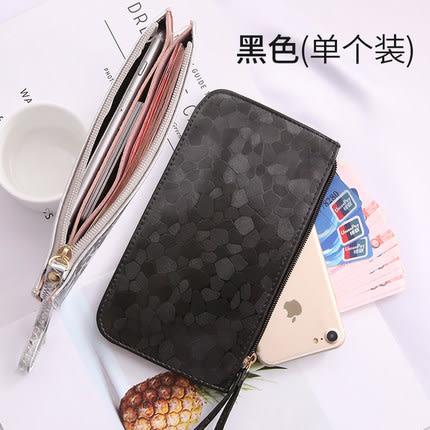 小錢包女長款百搭拉鏈韓版手機包零錢包袋手包手拿包迷你錢夾女式 交換禮物