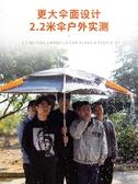 太陽/遮陽傘 佳釣尼 伏魔2.4米雙層釣魚傘大釣傘萬向防雨加厚遮陽防風雨傘魚傘 鉅惠85折
