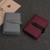 Ouliss真皮卡包女牛皮多卡位韓國可愛頭層牛皮信用卡片包名片包