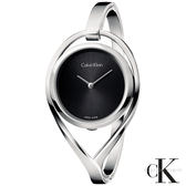CalvinKlein  精巧系列臻愛絕美手環式石英女錶  K6L2M111