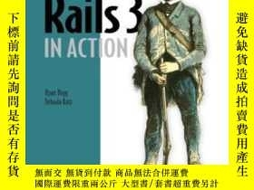 二手書博民逛書店Rails罕見3 In ActionY364682 Ryan Bigg Manning Publication