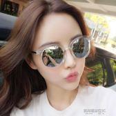 墨鏡女 新款韓版潮復古原宿風 同款眼睛gm太陽眼鏡防紫外線  凱斯盾數位3C
