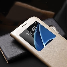 三星Sumsung Galaxy Note5 開窗側翻皮套 防塵防潑水手機保護套