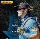 釣魚帽子男士防曬帽防紫外線漁夫帽男太陽帽戶外遮陽帽男夏季透氣 3C優購