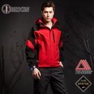 【JORDON 橋登 男 Gore-Tex 兩件式外套《紅黑》】1071/二件式外套/刷毛外套/防水外套/保暖防水大衣
