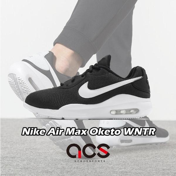 Nike 休閒鞋 Wmns Air Max Oketo WNTR 黑 白 女鞋 氣墊 復古慢跑鞋 運動鞋 【ACS】 CD5449-001