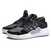 ADIDAS BBALL 90S 黑 白 皮革 運動 休閒鞋 女 (布魯克林) EF0639