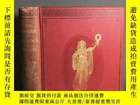 二手書博民逛書店The罕見Works of Robert Burns Vol I