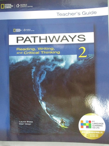【書寶二手書T1/語言學習_YBP】Pathways-Reading Writing and Critical Thinking_2