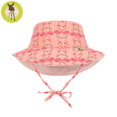 德國Lassig-嬰幼兒抗UV海灘遮陽帽-火紅鶴
