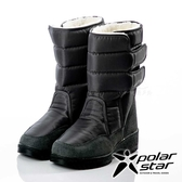 【PolarStar】女保暖雪鞋『黑』P18633 (冰爪 / 內厚鋪毛 /防滑鞋底) 雪地靴.雪鞋.賞雪.滑雪.雪地必備