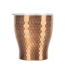金時代書香咖啡 Tiamo 真空錘紋陶瓷杯 230ml 玫瑰金 HE5164BZ