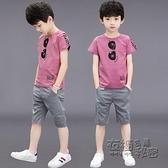 男童夏裝套裝新款兒童帥氣兩件套中大童夏季休閒男孩夏天潮裝 衣櫥秘密