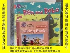 二手書博民逛書店進口原版柯林斯大貓經典閱讀繪本套裝,big罕見cat: red B starter set (age 4-5)