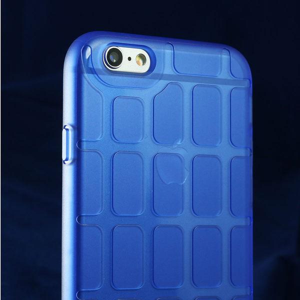 iPhone 6/6s Plus 手機殼 5.5吋【Pebbles 石尚規則 - 霧透湛藍】- WaKase
