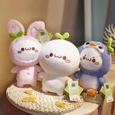 小娃娃公仔抱枕毛絨玩具可愛睡覺玩偶【雲木雜貨】