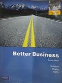 【書寶二手書T9/大學商學_WGW】Better Business(2版)_Michael R. Solomon、Mar