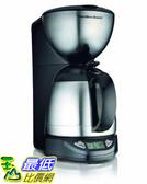 Hamilton Beach 10杯咖啡壺 可設定 帶隔熱玻璃水瓶(49855) [美國代購]