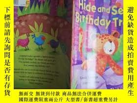 二手書博民逛書店Hide罕見and seek birthday treat【實物
