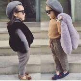男童裝兒童馬甲毛毛坎肩女裝小中大童女寶寶仿皮草背心潮 糖果時尚