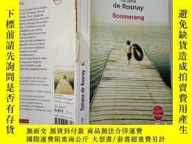 二手書博民逛書店罕見Boomerang(法文原版)Y24355 TATIANA DE ROSNAY ÉDITIONS HÉLO
